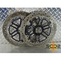 97-03 Honda Blackbird 1100 XX Front Disc Brake Rotors