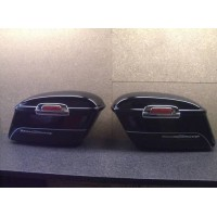 2 Koffer Cases Seitentaschen Triumph Rocket III Touring