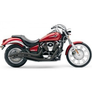 Глушитель Speedster Swept Exhaust Black для Vulcan 900 06-10